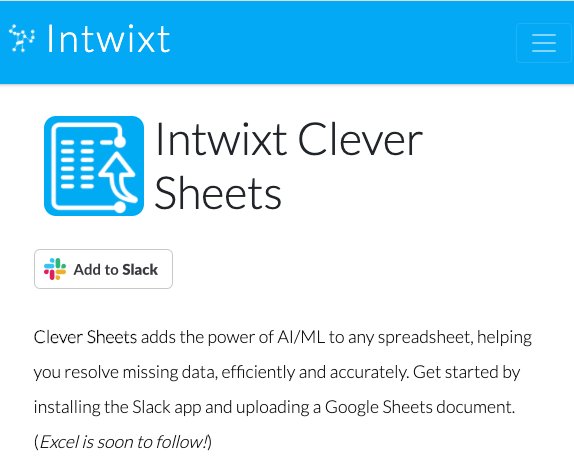 Clever Sheets app now available in the Slack App Directory